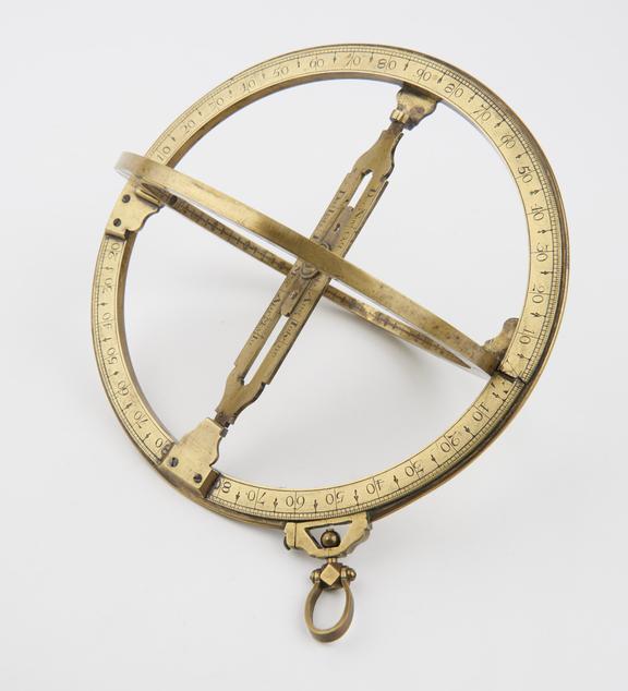 6 Universal Ring Dial, engraved 'Hilkiah Bedford in Fleet Street near Fetter Lane End''