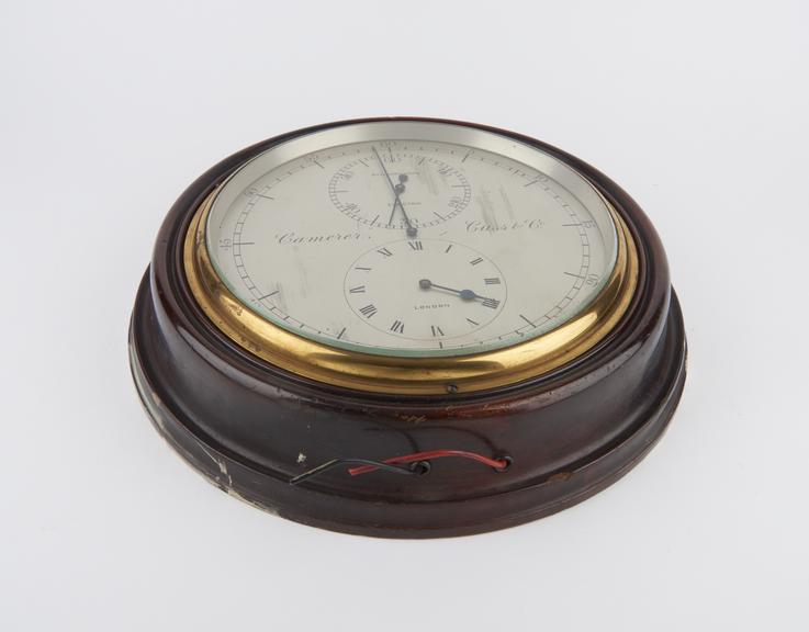 Slave dial for Sychronome' astronomical regulator'