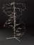 Reconstruction of the double helix model of DNA built by Francis Crick and James Watson in 1953 using some of the