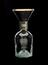 Bottle and funnel from Luke Howard's original rain gauge, made by Richard & George Knight, 45 Foster Lane, Cheapside,