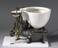 """""""Optimus"""" patent water closet of 1870. Image taken, general view with grey graduated background"""