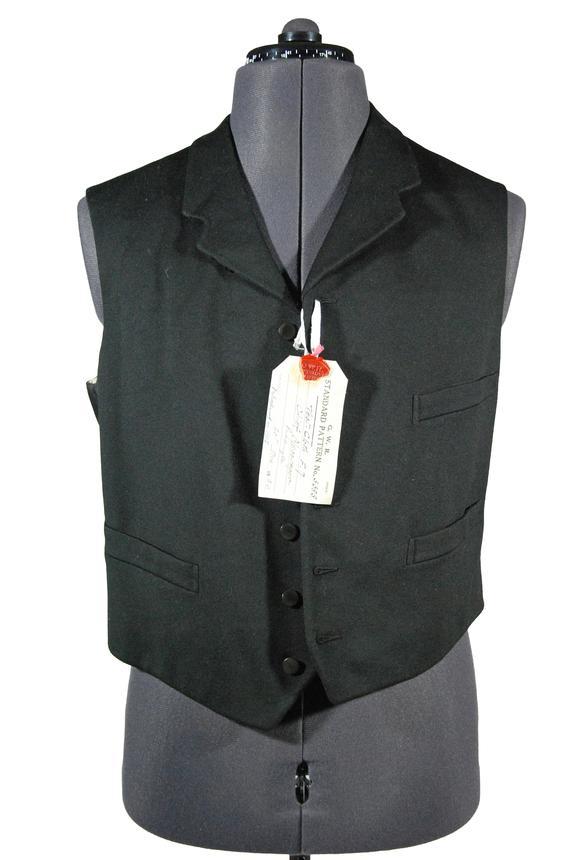 Great Western Railway chief messenger waistcoat