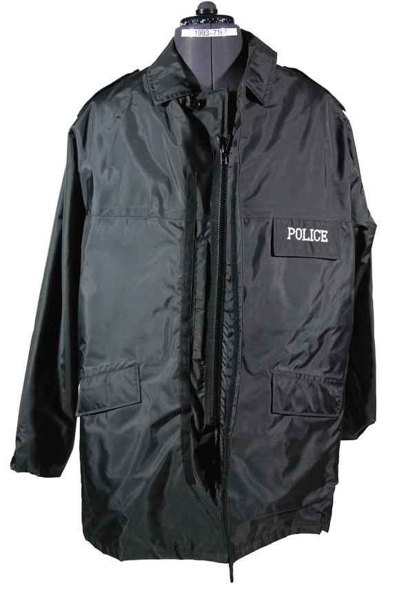 British Transport Police waterproof jacket