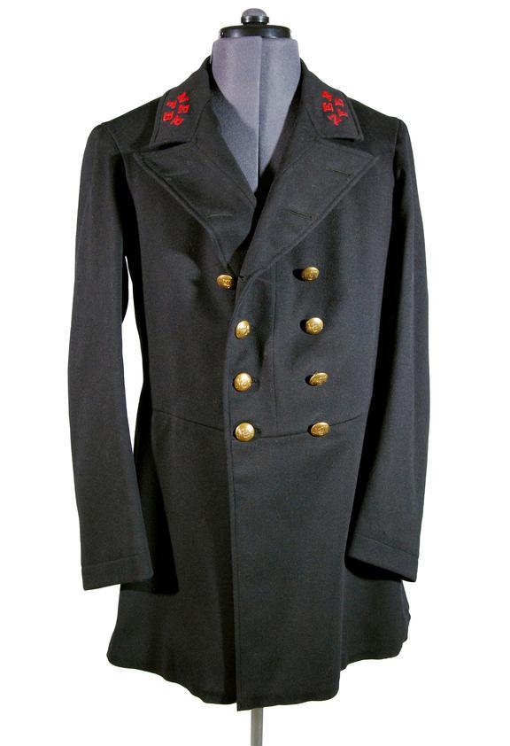 Fire brigade jacket, North Eastern Railway