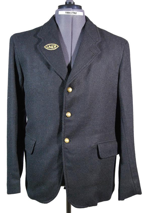 Jacket, London & North Eastern Railway, Shunter, H. Hodgson, Goods Shunter, York