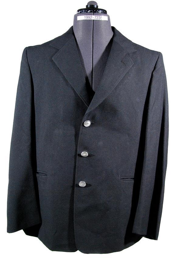Sample railway uniform jacket, British Railways