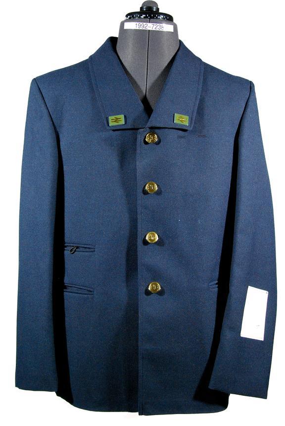 British Railways uniform jacket, double arrow lapels