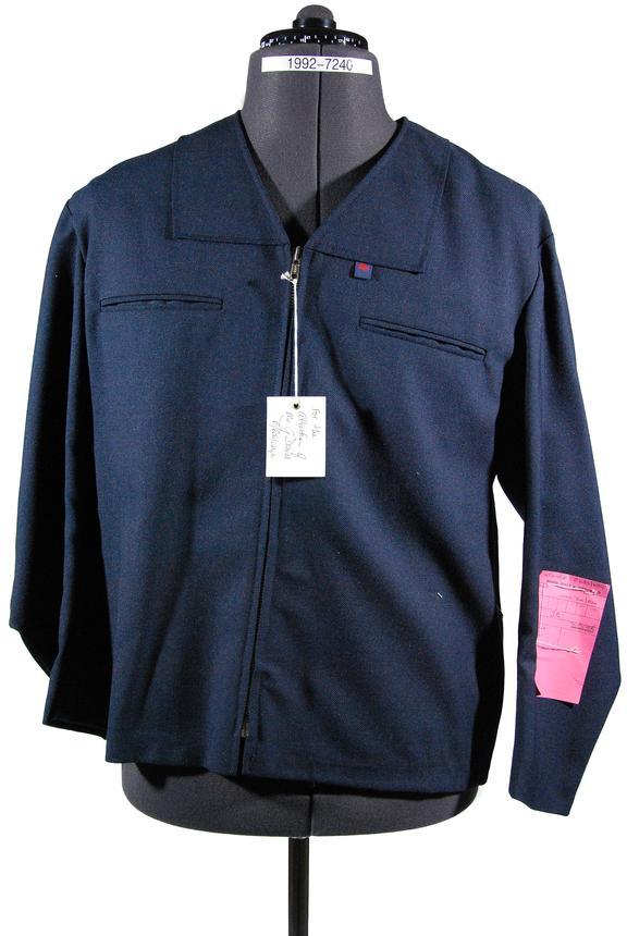 Blouson jacket, sample garment