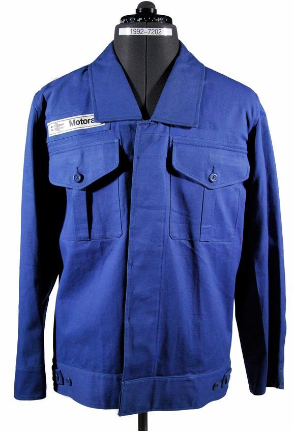 Jacket, Motorail staff standard pattern
