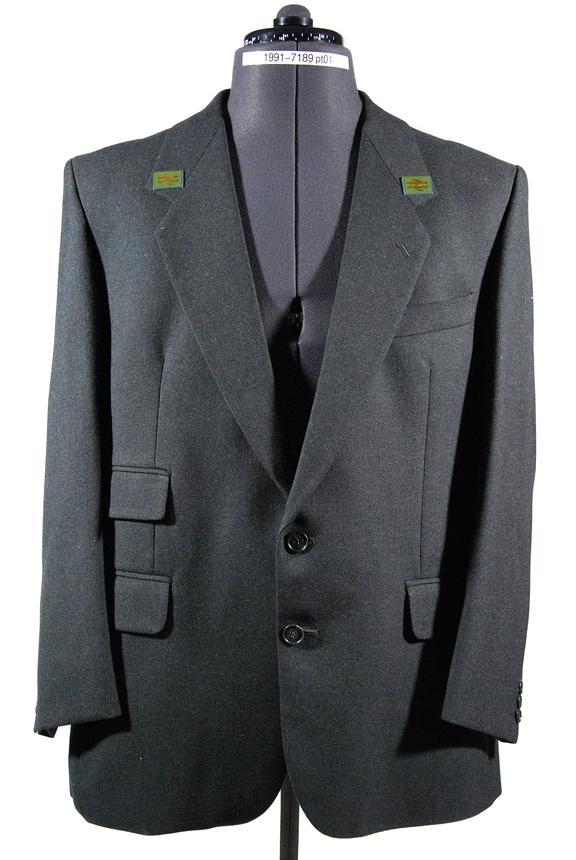 Railway uniform jacket, BR 1989 issue