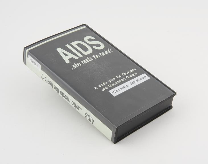 AIDS: who needs the healer?', for the Board for Social Responsibility, Rowley Street, Stafford, England and produced by