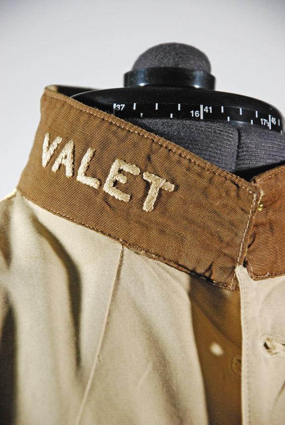 Great Western Railway valet jacket