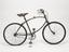 BSA folding bicycle, c. 1940. Right hand side view on white background.