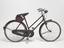 """Bicycle, 'Rudge', 21"""" lady's frame, 1956. Right hand side view on white background."""