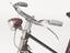 """Bicycle, 'Rudge', 21"""" lady's frame, 1956. Detail view on white background."""
