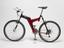 Arrow Spyce, adult size, unisex,  cross country mountain bicycle, 1997. Left hand side view on white background.