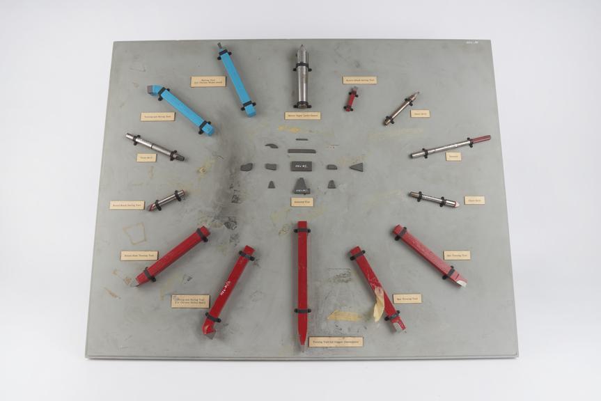 ?Oakaloy? cemented tungsten carbide ?spear point? glass drill?, by Lenchs Ltd., Birmingham, Warwickshire, England, 1954