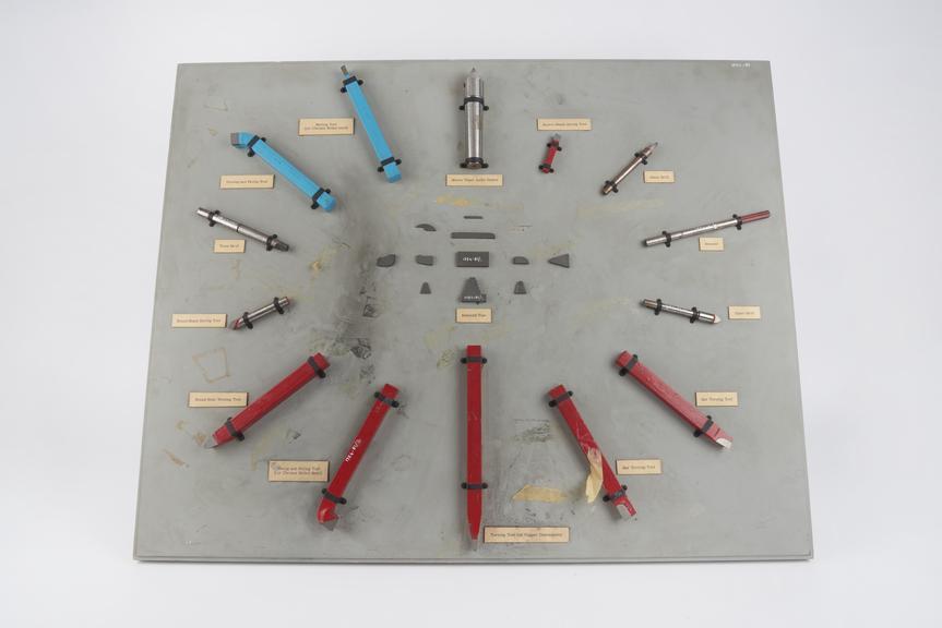 Cemented tungsten carbide ?sintered tip?, 1 of 12, by Lenchs Ltd., Birmingham, Warwickshire, England, 1954