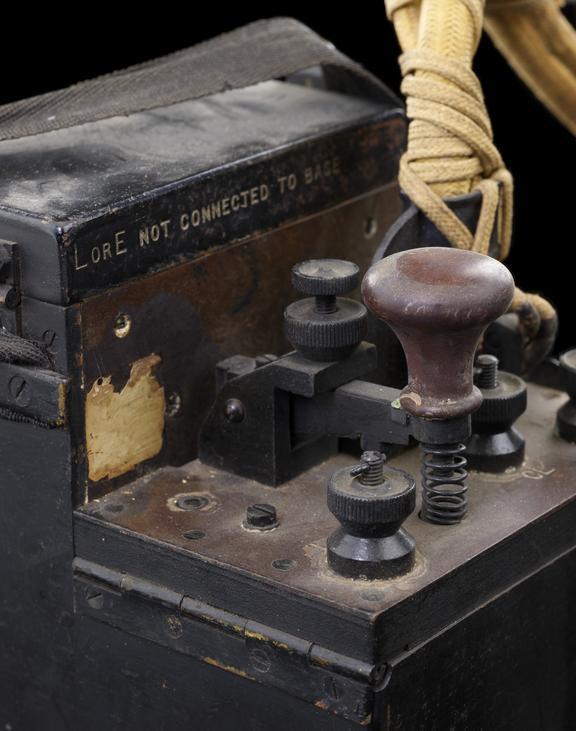 Fullerphone, P.O. pattern 237A. In 1915, British Army Captain Algernon Fuller developed equipment for sending messages