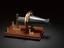 Replica of Bell's 'Centennial' telephone transmitter, unknown maker, 1876.              The 'Centennial' telephone was so called