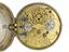 Silver pair-cased astronomical watch