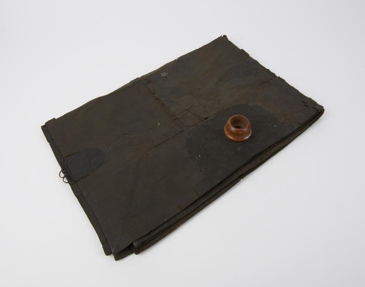 Reservoir bag, fabric, forinhaler