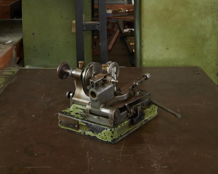 Matrix punch mill tool, grinding machine