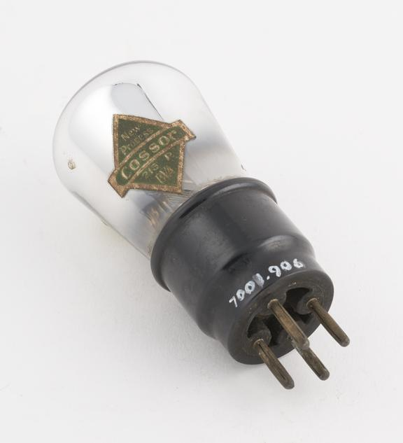 Cossor thermionic triode valve