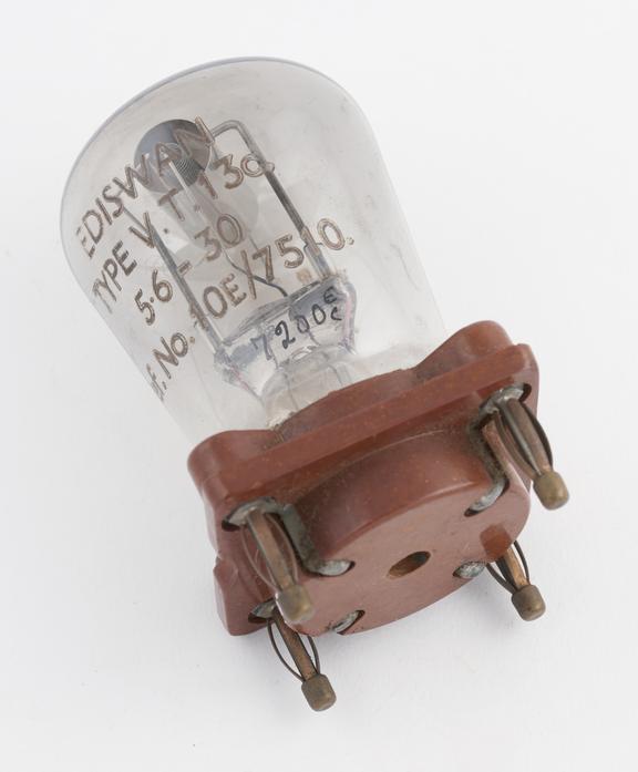 Ediswan thermionic triode valve