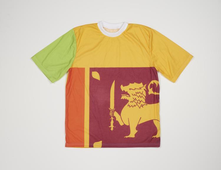 Commonwealth Games Sri Lanka Flag T-Shirt