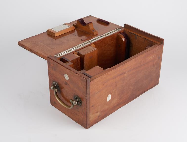 Case for microscope by Ernst L