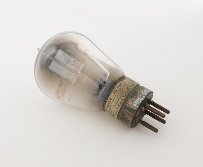 Marconi triode valve