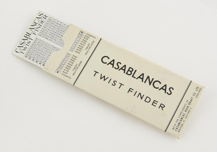 Casablancas Twist Finder