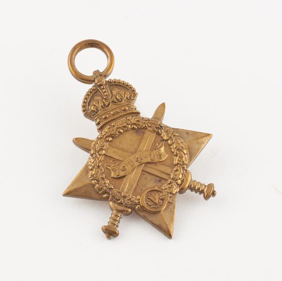 The 1914-1915 Star Medal
