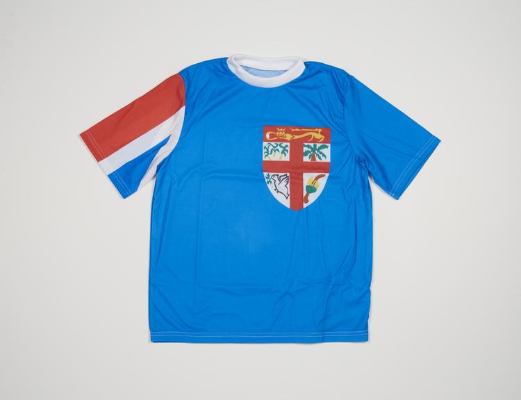 Commonwealth Games Fiji Flag T-Shirt