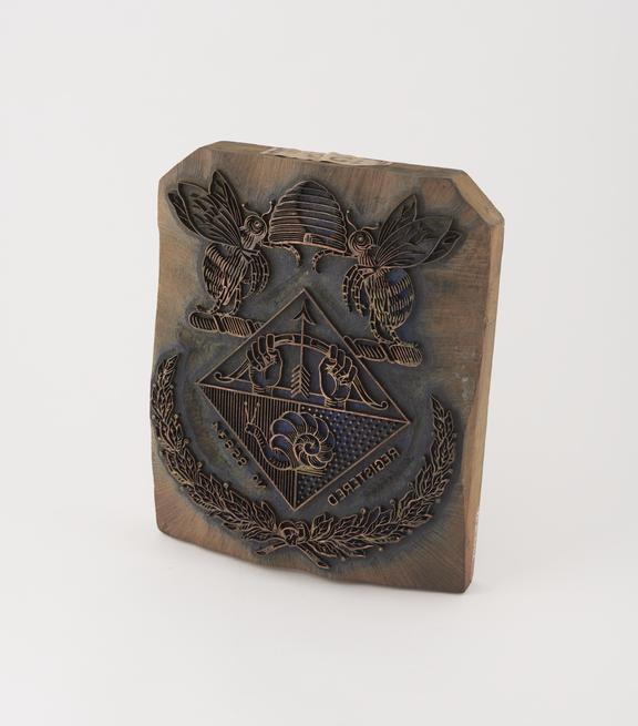 Face plate stamp used by Stave