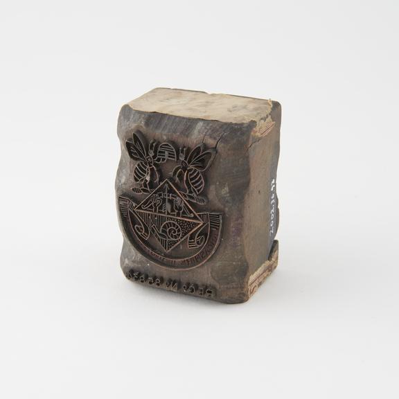 Bolt end stamp Lancashire Manu
