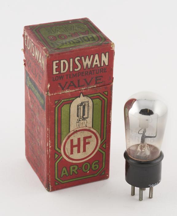 Edison Swan thermionic triode valve