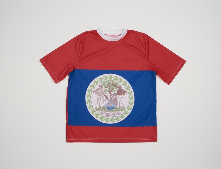 Commonwealth Games Belize Flag T-Shirt