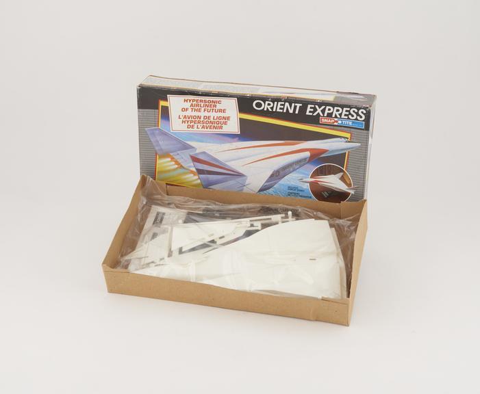 """Orient Express"" Spacecraft Model Kit"