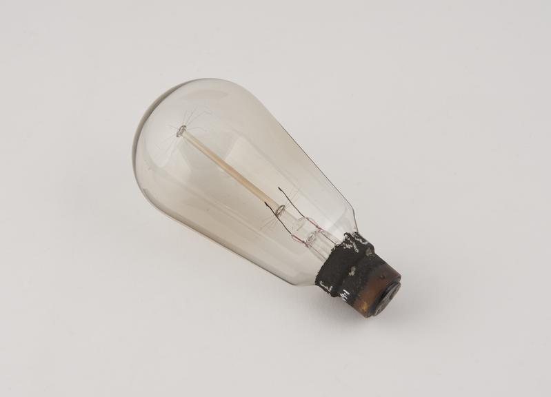 Osram light bulb with tungsten