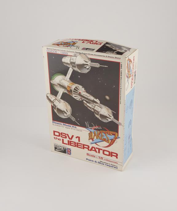 "Box for ""Liberator"" Spaceship Model"