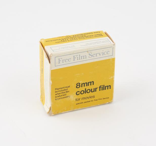 8mm Colour Movie Film
