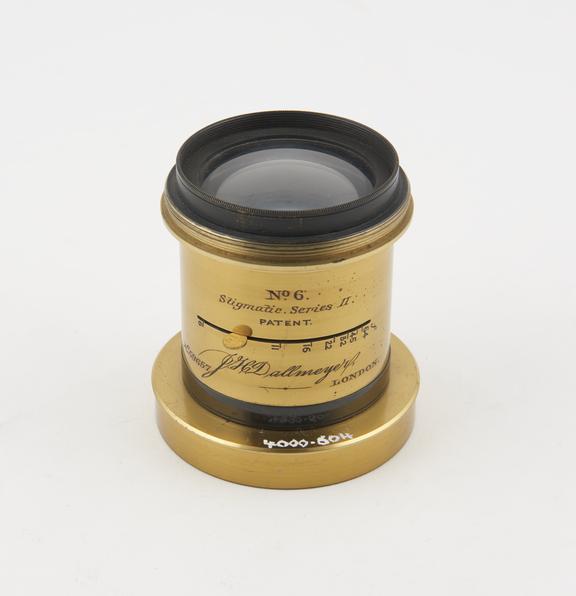 Dallmeyer Stigmatic Series II Lens