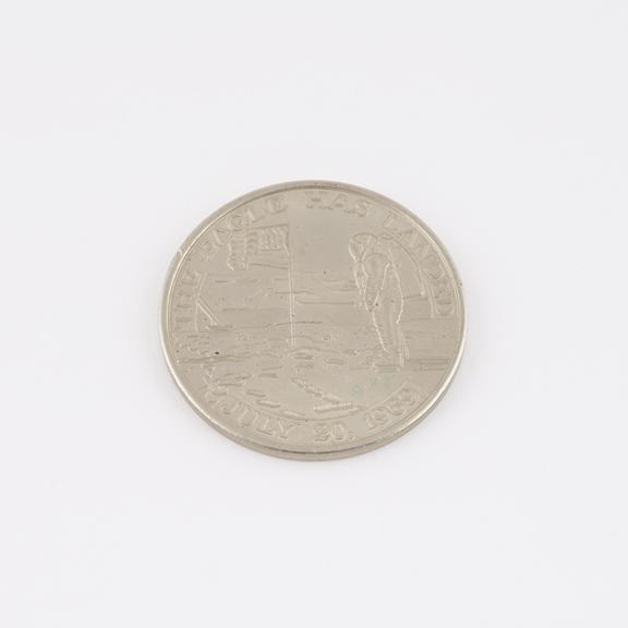 Apollo 11 Commemorative Medallion