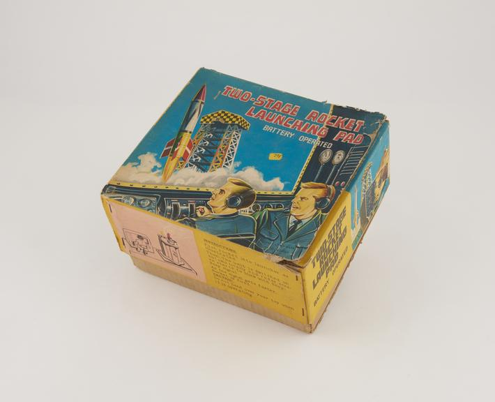 Box for Rocket Launching Pad Toy