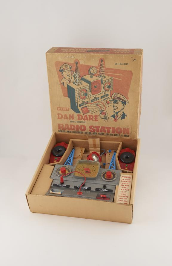Dan Dare Space Control Station Toy