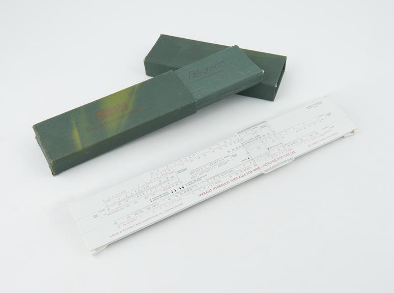 Hydraulic Slide Rule