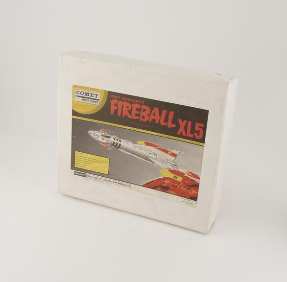 Box for Fireball  XL5 Model Kit
