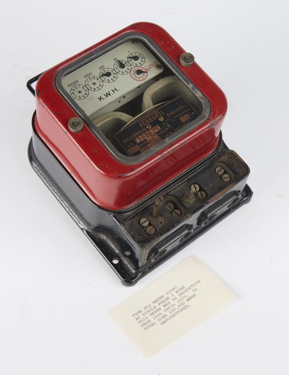 Ferranti Type FCc Electric Meter